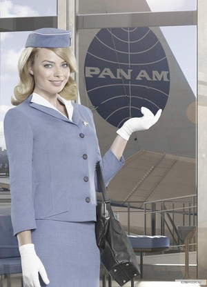 Margot Robbie as Laura Cameron in Pan Am - Cast Portrait