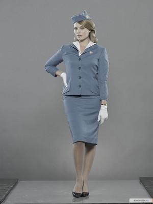 Margot Robbie as Laura Cameron in Pan Am - Cast Portrait