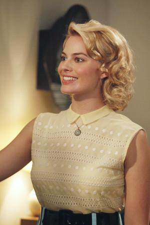 Margot Robbie as Laura Cameron in Pan Am - Truth atau Dare