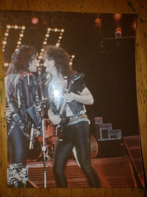 Mark and Gene ~Baltimore, Maryland...November 27, 1984 (Animalize World Tour)