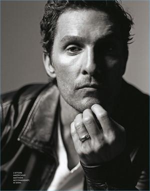 Matthew McConaughey - D La Repubblica Photoshoot - 2017