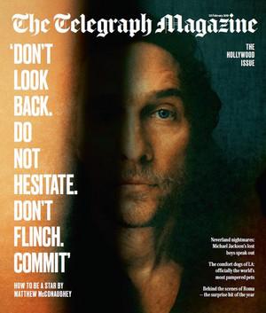 Matthew McConaughey - Telegraph Cover - 2019