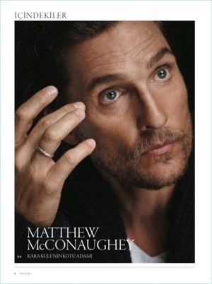 Matthew McConaughey - The Rake Photoshoot - 2017