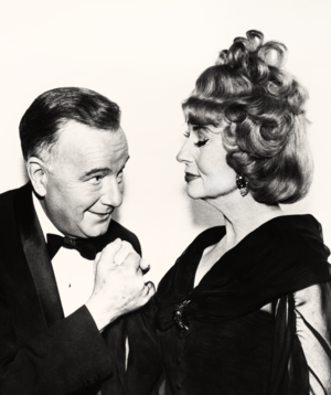 Maurice Evans and Agnes Moorehead