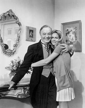 Maurice Evans and Liz