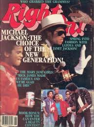 Michael Jackson And Alphonso Ribiero On The Cover Of Right On!