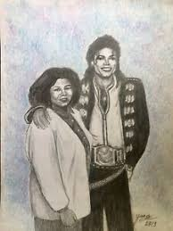 Michael Jackson And His Mother, Katherine