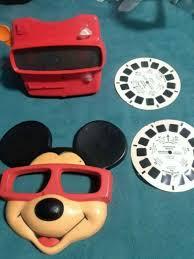 Mickey ماؤس Viewmaster Set