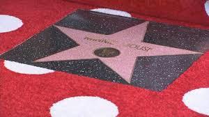 Minnie ratón estrella Walk Of Fame