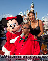 Minnie माउस With Stevie Wonder And Anika Noni Rose