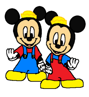 Morty and Ferdie Fieldmouse (Mickey's Nephews),.,,
