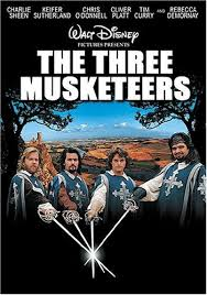 Movie Poster 1993 disney Film, The Three Musketeers