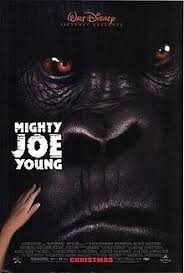 Movie Poster 1998 Disney Film, Mighty Joe Young