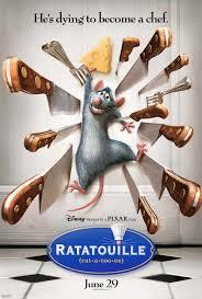 Movie Poster 2007 Disney Film, Ratatouille