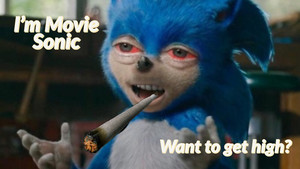 Movie Sonic On Weed