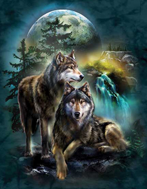Mystical Wolves