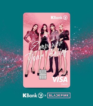 New Photos of BLACKPINK for KBank Debit Card