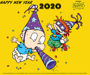 Nickelodeon's Rugrats Happy New Year 2020!