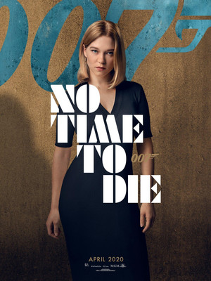 No Time to Die (2020) Poster - Lea Seydoux as Madeleine Swann