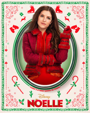 Noelle (2019) Character Poster - Anna Kendrick as Noelle Kringle