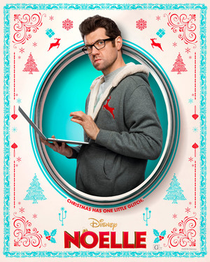 Noelle (2019) Character Poster - Billy Eichner as Gabriel Kringle