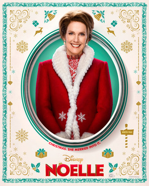 Noelle (2019) Character Poster - Julie Hagerty as Mrs. Claus