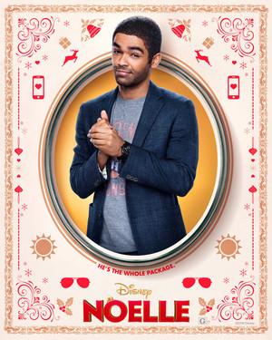 Noelle (2019) Character Poster - Kingsley Ben-Adir as Jake Hapman