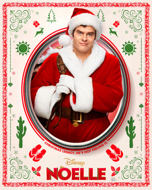 Noelle (2019) Poster - Bill Hader as Nick Kringle