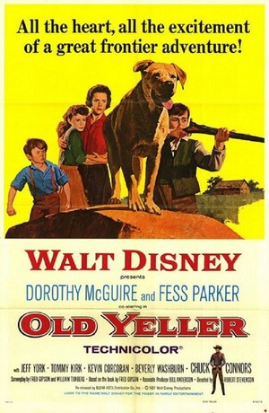 Old Yeller (1957) Poster