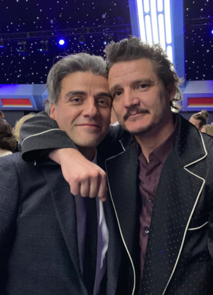 Oscar Isaac and Pedro Pascal - premiere of 星, つ星 Wars: The Rise Of Skywalker - December 16, 2019