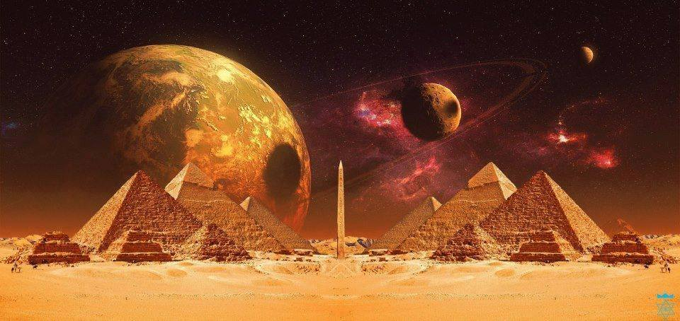 PYRAMID GIZA EGYPT FANTASY
