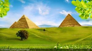 PYRAMIDS GARDEN EGYPT pantasiya