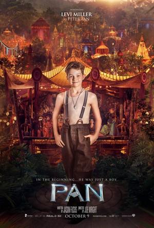 Pan (2015) Character Poster - Levi Miller as Peter Pan