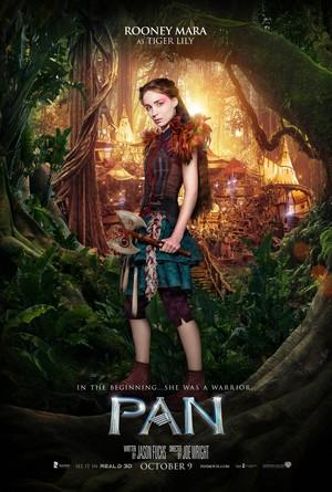Pan (2015) Character Poster - Rooney Mara as Tiger Lily