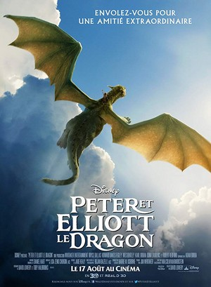 Pete's Dragon (2016) French Poster