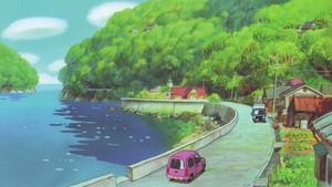 Ponyo on the Cliff 의해 the Sea