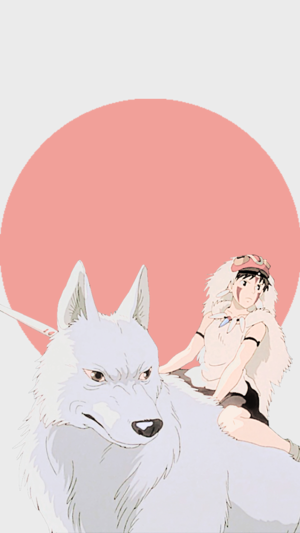 Princess Mononoke Phone 壁紙