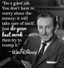 Quote From Walt ディズニー