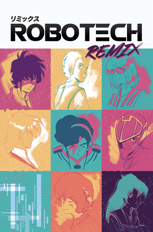 Remix volume 05 coverart by Rico Renzi