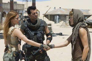 Resident Evil: Extinction - Claire, Carlos and Alice