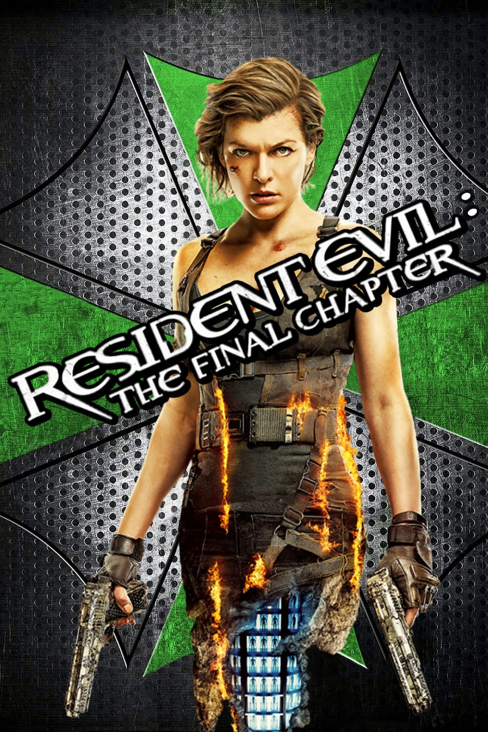 Resident Evil The Final Chapter 2016 Poster Female Ass