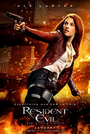 Resident Evil Retribution 2012 Poster Female Ass Kickers