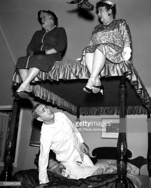 Reta Shaw --- Madge Blake --- Shelley Berman