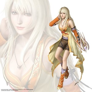 Rinoa Heartilly BLONDE HAIR AND NEW DRESS