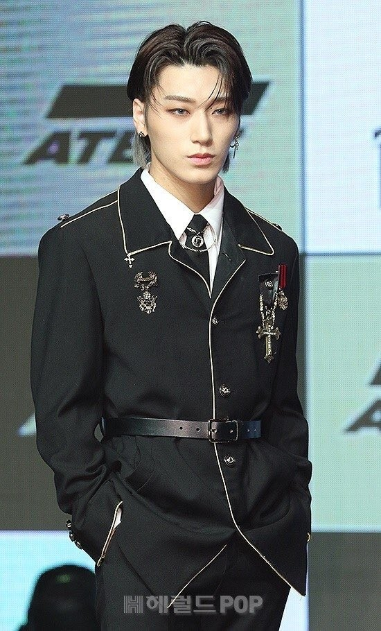 Ateez San / But so does san, because he is smoking hot.
