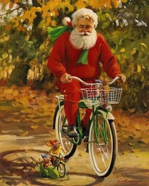 Santa clause🎄❤️⛄❄️🎅