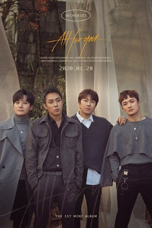 Sechskies reveal album cover for 'All For You' feat. 4 members