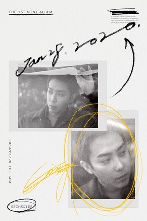 Sechskies unveil grey, moody set of concept posters for their 1st ever mini album release