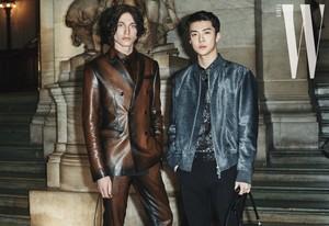 Sehun in Berluti 2020 Paris Fashion Week