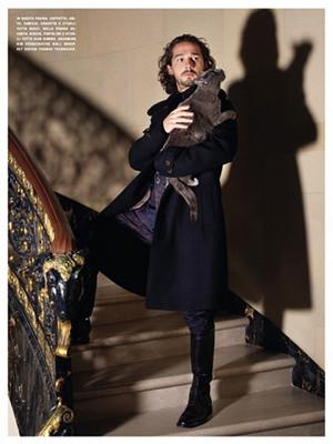 Shia LaBeouf - L'Uomo Vogue Photoshoot - 2012